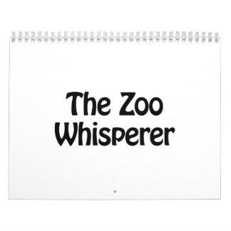 el whisperer del parque zoológico calendarios
