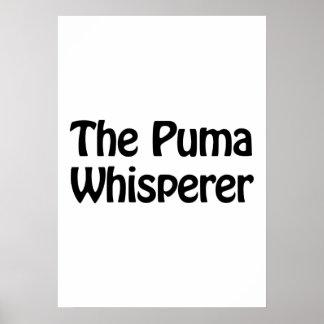 el whisperer del puma póster