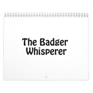 el whisperer del tejón calendarios de pared