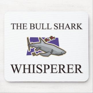 El Whisperer del tiburón de Bull Tapete De Ratones