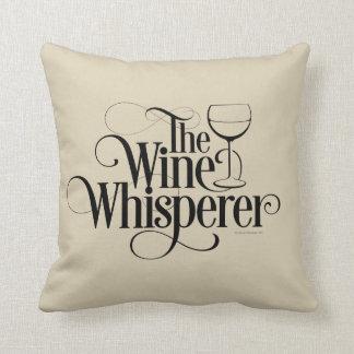 El Whisperer del vino Almohadas