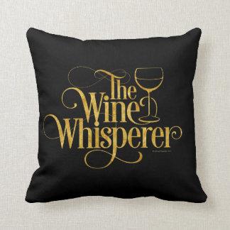 El Whisperer del vino Cojin