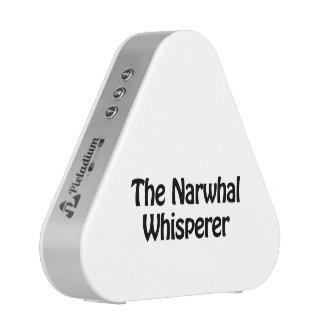 el whisperer narwhal altavoz