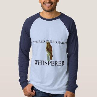El Whisperer Rojo-Atado del halcón Polera