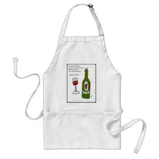 ÉL WHO AMA NO EL VINO… Impresión del vino de Jill Delantal