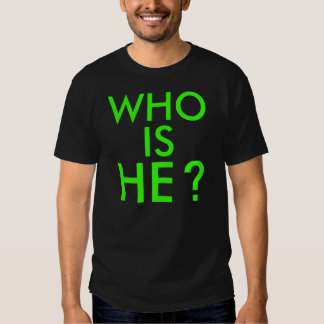 ¿EL WHO ES ÉL? POLERA