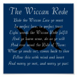 El Wiccan Rede (versión corta) Póster