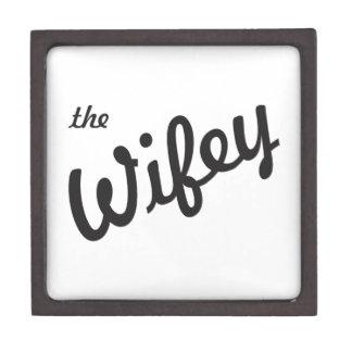 El Wifey Caja De Recuerdo De Calidad