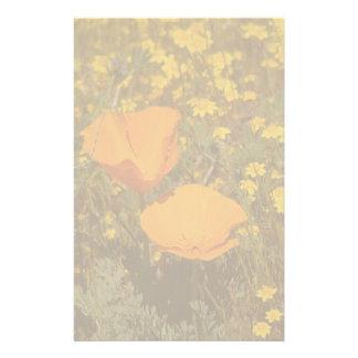 El Wildflower de la amapola de California florece Papeleria