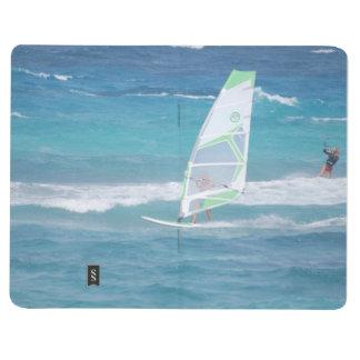 El Windsurfing en las zonas tropicales Cuaderno