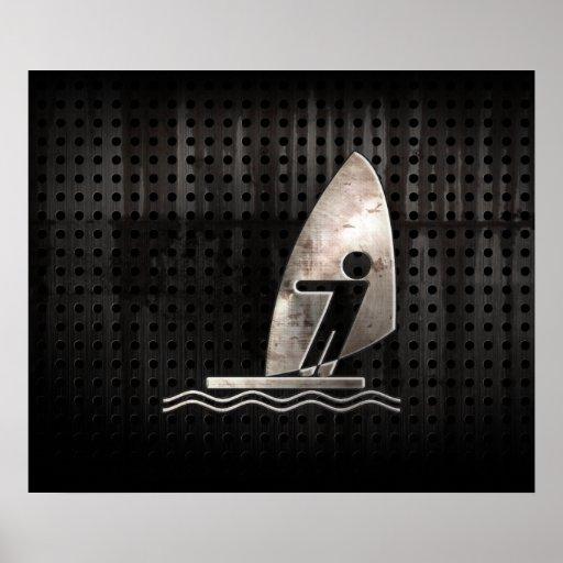 El Windsurfing; Fresco Impresiones