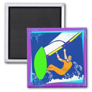 El Windsurfing Imanes