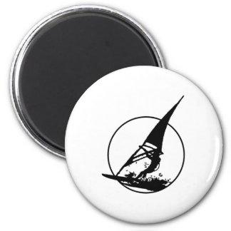 El Windsurfing Imán Redondo 5 Cm