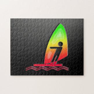 El Windsurfing liso Rompecabezas Con Fotos