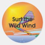 El Windsurfing SUPERIOR Pegatina