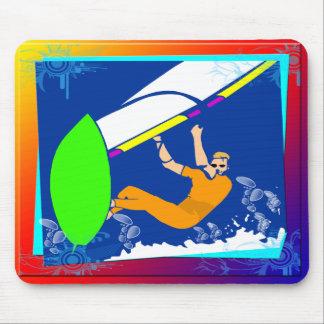 El Windsurfing Alfombrillas De Ratón