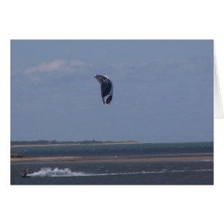 El Windsurfing Tarjeta Pequeña