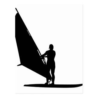El Windsurfing Tarjeta Postal