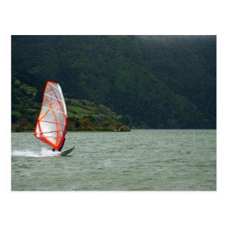 El Windsurfing Tarjetas Postales