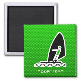 El Windsurfing verde Imán