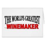 El Winemaker más grande del mundo Tarjeta