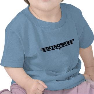 El Wingman se va volando el logotipo Camisetas