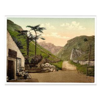 El Winnets, Castleton, Derbyshire, Inglaterra P ra Tarjetas Postales
