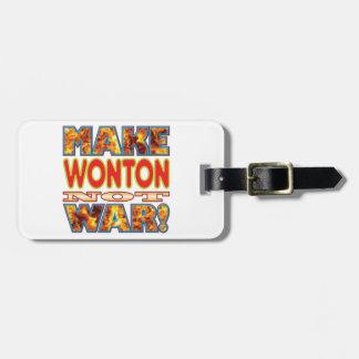 El Wonton hace X Etiquetas Maleta