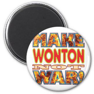 El Wonton hace X Imán Redondo 5 Cm