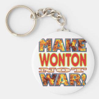 El Wonton hace X Llavero Redondo Tipo Pin