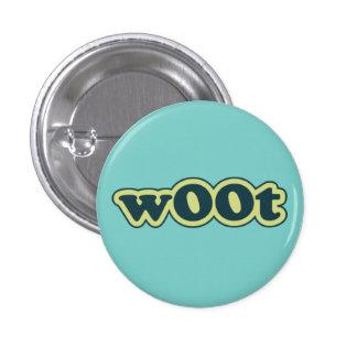 el wOOt Lolcat habla el botón de Pinback del insti Pins