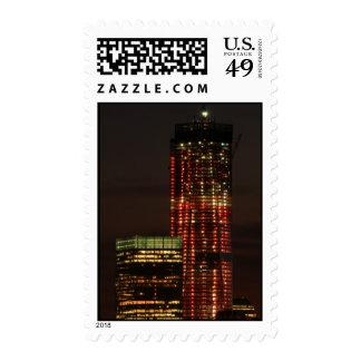El World Trade Center NYC se encendió para arriba Envio