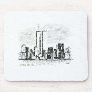 El World Trade Center Alfombrillas De Raton