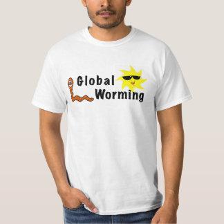 El Worming global Camisas
