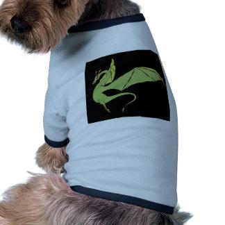 El Wyrm (verde) Camiseta Con Mangas Para Perro