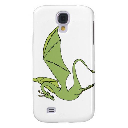 El Wyrm (verde) Funda Para Galaxy S4