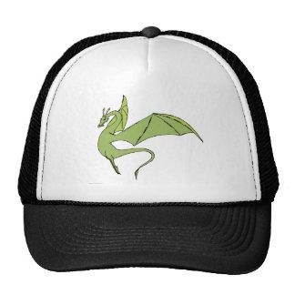 El Wyrm (verde) Gorro