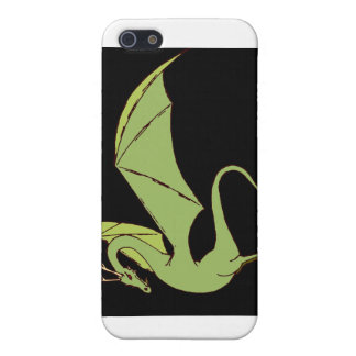 El Wyrm (verde) iPhone 5 Fundas