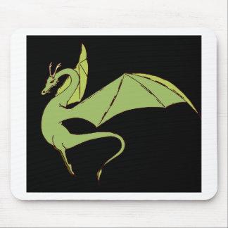 El Wyrm (verde) Mouse Pads