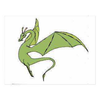 El Wyrm (verde) Postal
