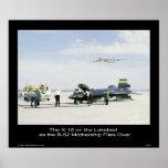 El X-15 en el Lakebed como la maternidad B-52 Impresiones