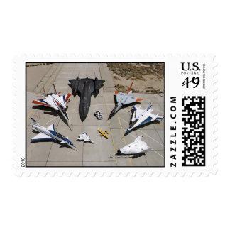 El X-31, F-15S/MTD, SR-71, F-106, franqueo de F-16