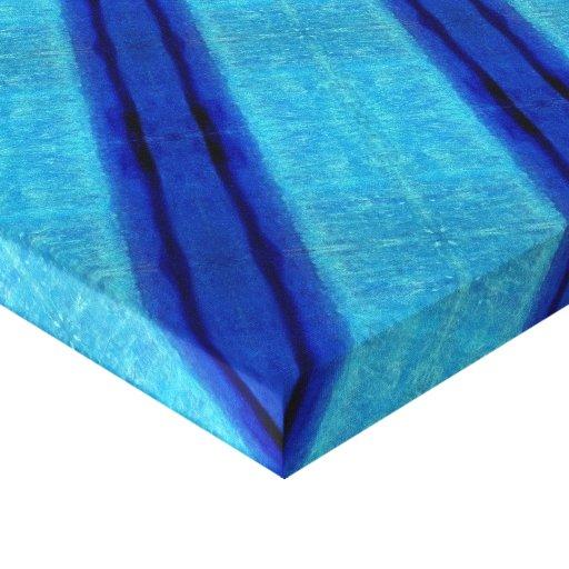 El X-FICHERO de la serenidad azul Impresion En Lona