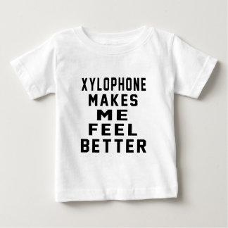 El xilófono hace que siente mejor tee shirts