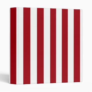 """El XL rojo y blanco del arándano raya el modelo Carpeta 1"""""""