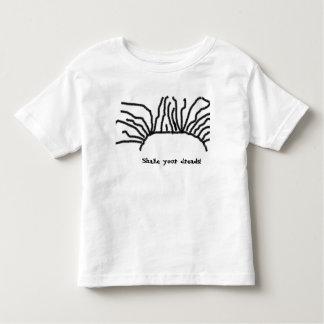 """El """"ya de la sacudida teme"""" la camiseta del jersey"""