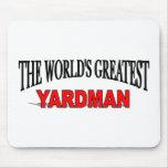 El Yardman más grande del mundo Alfombrillas De Ratones