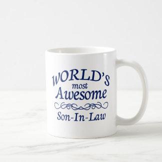 El yerno más impresionante del mundo tazas