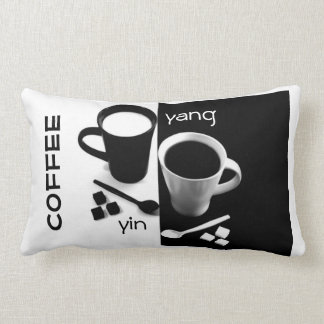 El Yin y Yang de la almohada del café