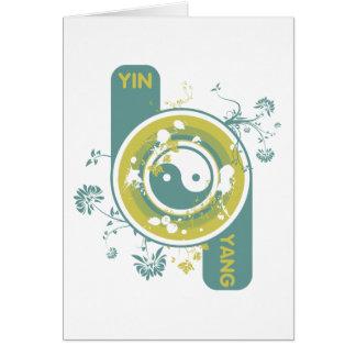 El Yin y Yang Tarjetas